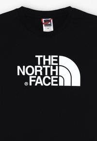 The North Face - YOUTH EASY UNISEX - T-shirt print - black/white - 4