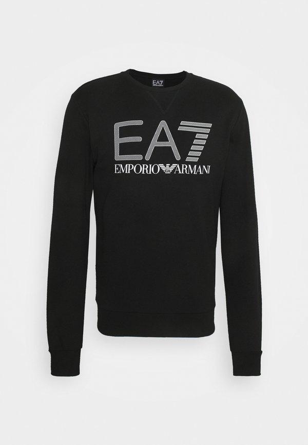 EA7 Emporio Armani Bluza - black/czarny Odzież Męska STVF