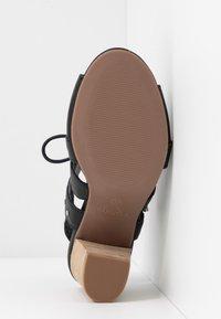 Carmela - High heeled sandals - black - 6