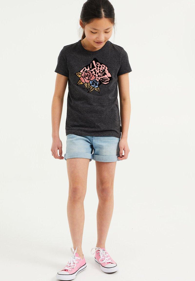 WE Fashion - T-shirts print - dark blue
