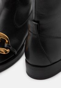 N°21 - BOOTS - Støvletter - black - 4