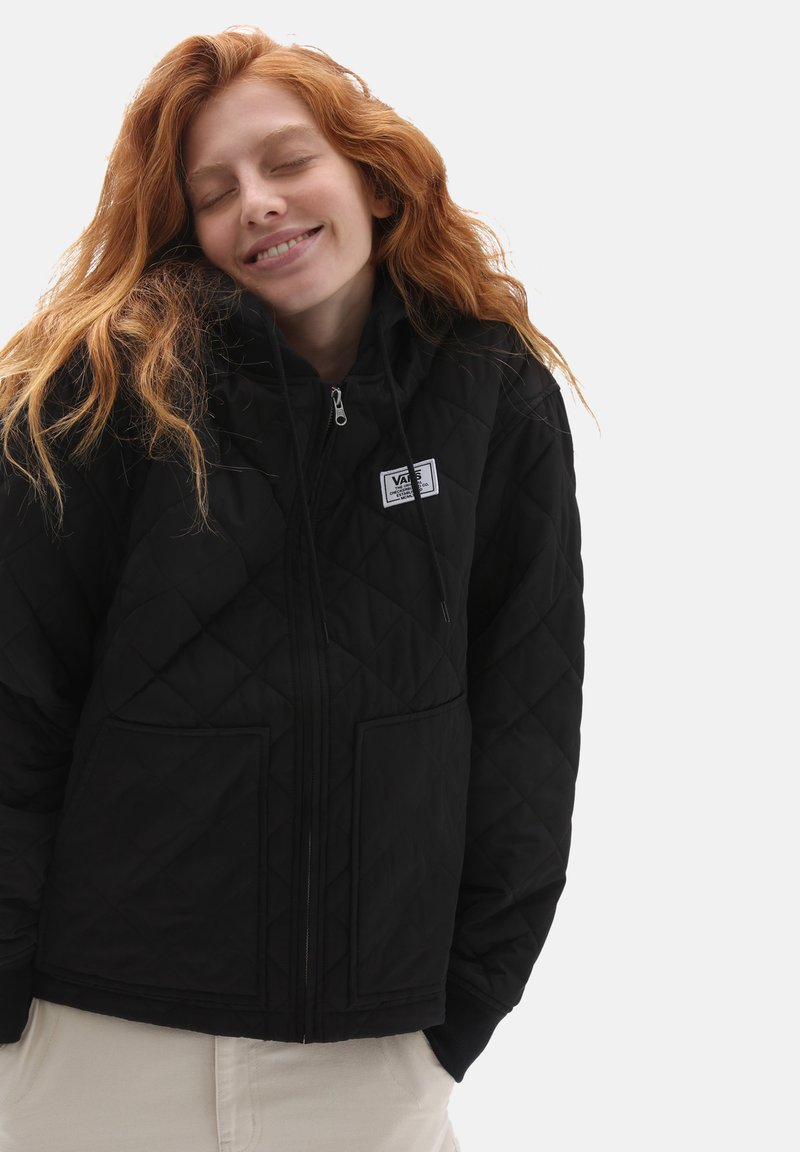Vans - WM BOOM BOOM 66 HOOD BOMBER - Winter jacket - black