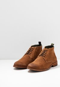 Barbour - BENWELL - Casual lace-ups - cognac - 2