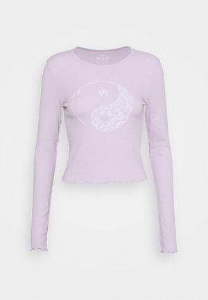 TREND TEE - Camiseta de manga larga - purple