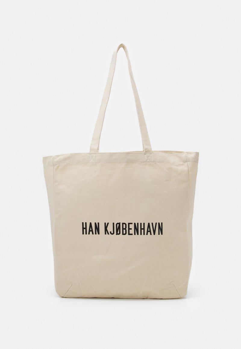 Han Kjøbenhavn - TOTE UNISEX - Tote bag - white