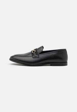 LEATHER - Mocasines - black