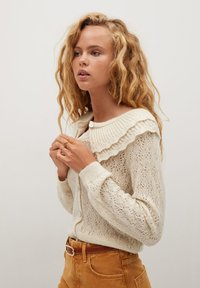 Mango - DOLLY - Cardigan - blanc cassé - 4