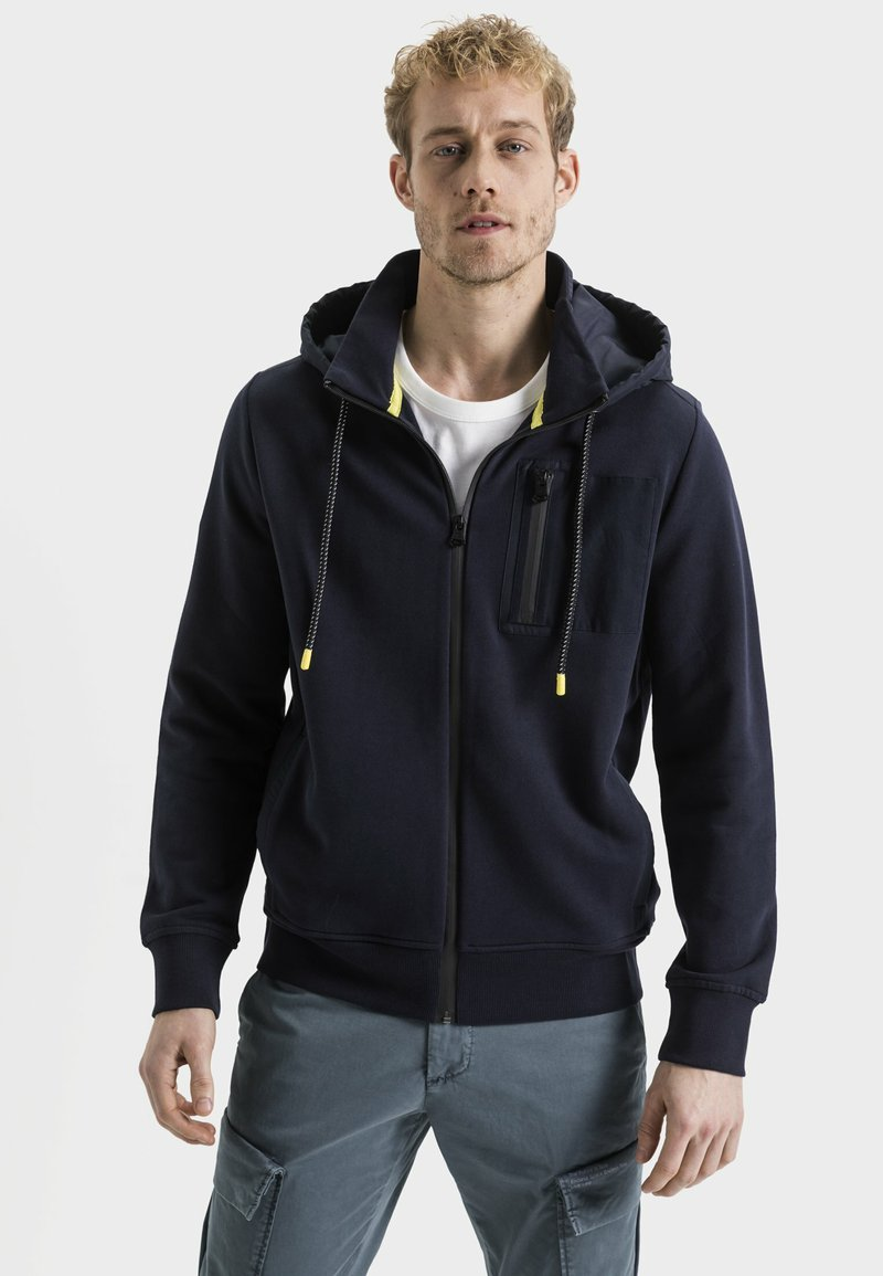 camel active - Zip-up hoodie - navy