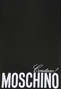 MOSCHINO - MAXI OVERSIZE - Triko spotiskem - black - 2
