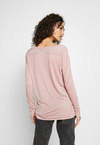 G-Star - GYRE UTILITY V-NECK LONG SLEEVE T-SHIRT - Long sleeved top - berry mist - 2