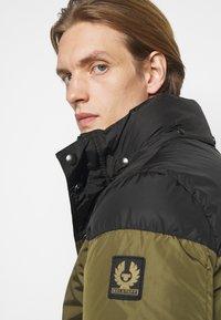 Belstaff - DOME JACKET - Down jacket - black/sage green - 5