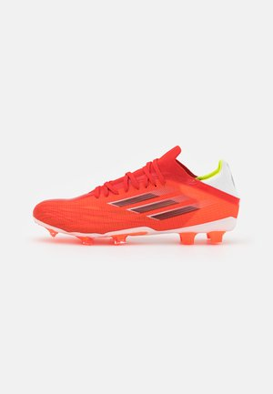X SPEEDFLOW.2 FG - Moulded stud football boots - red/core black/solar red