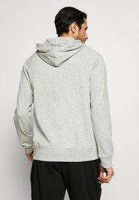 Calvin Klein Underwear - LOUNGE FULL ZIP HOODIE - Pyjamapaita - grey - 2