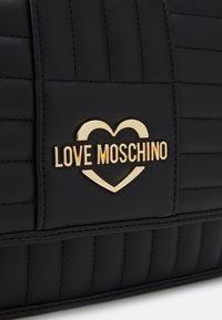 Love Moschino - QUILTED SOFT - Across body bag - nero - 5