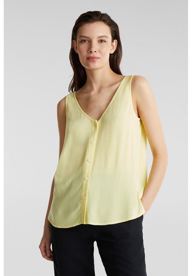 Esprit - CORE - Blouse - lime yellow