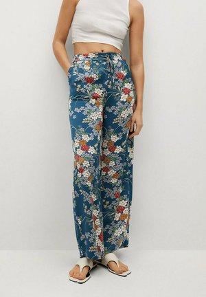 PETAL - Trousers - bleu