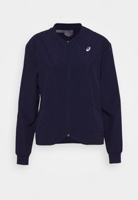 ASICS - CLUB JACKET - Training jacket - peacoat - 5