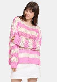 myMo - Jumper - light pink/white - 0