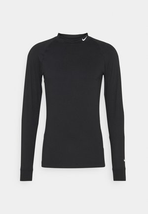 VAPOR - Long sleeved top - black/white