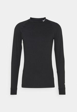 VAPOR - Top sdlouhým rukávem - black/white
