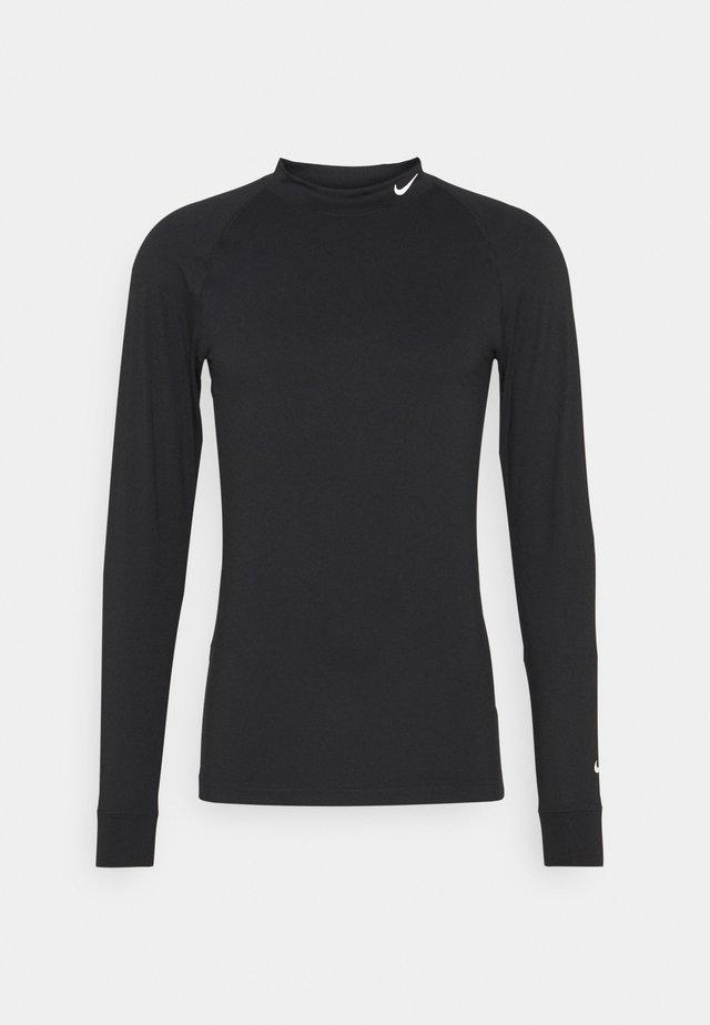 VAPOR - Camiseta de manga larga - black/white