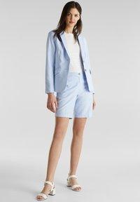 Esprit - CHAMBRAY - Blazer - light blue - 1