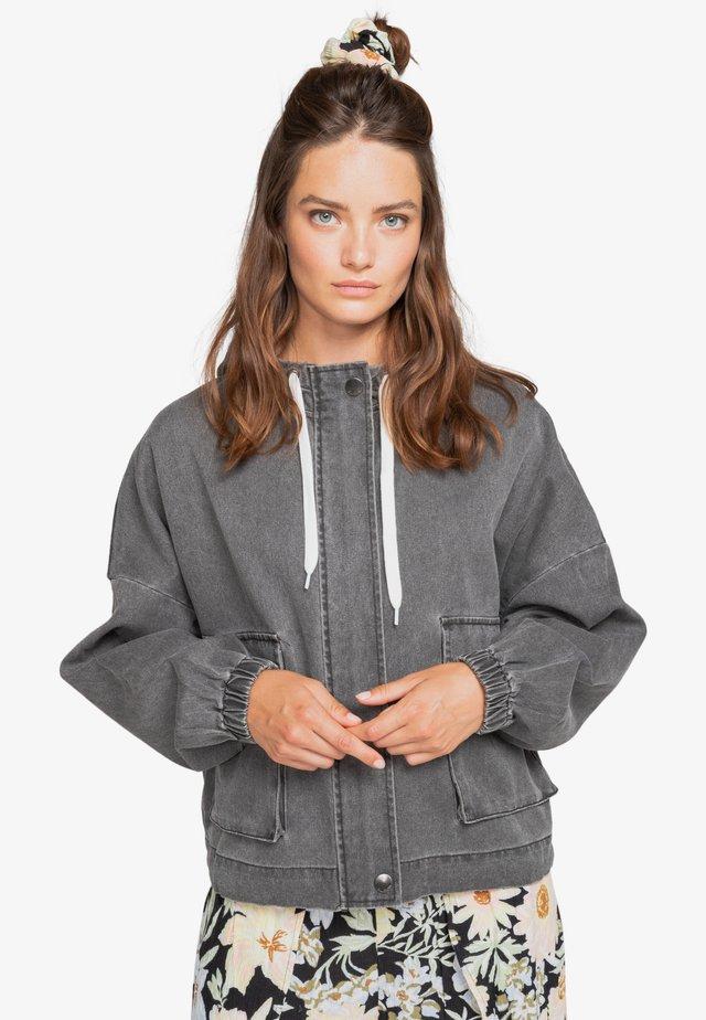 Denim jacket - off black