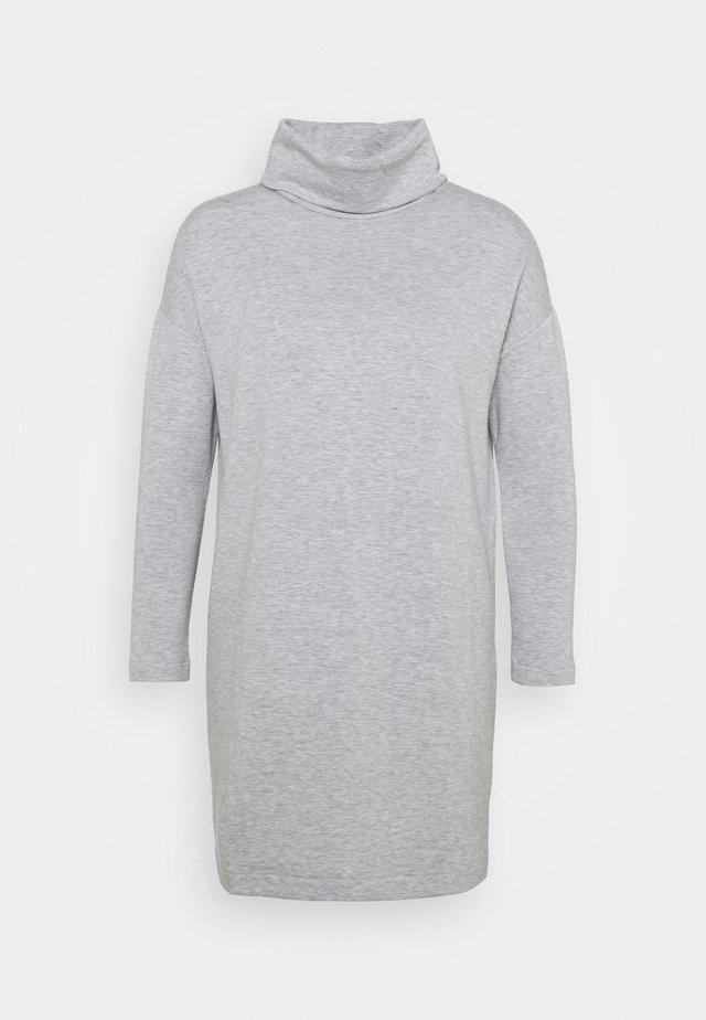 DRESS - Day dress - heather grey