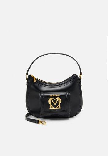 SCARFED HOBO - Handbag - nero