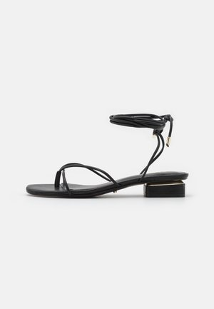 GIANNAFLEX - T-bar sandals - black