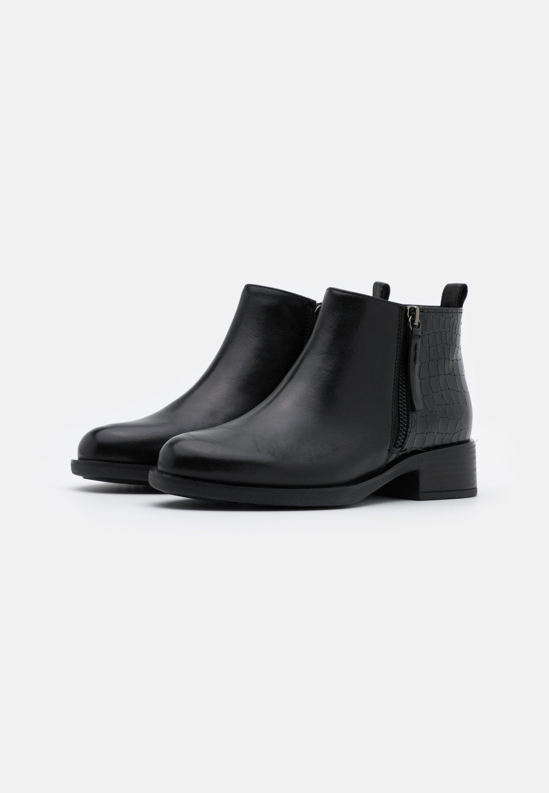 Geox RESIA Ankle Boot black/schwarz