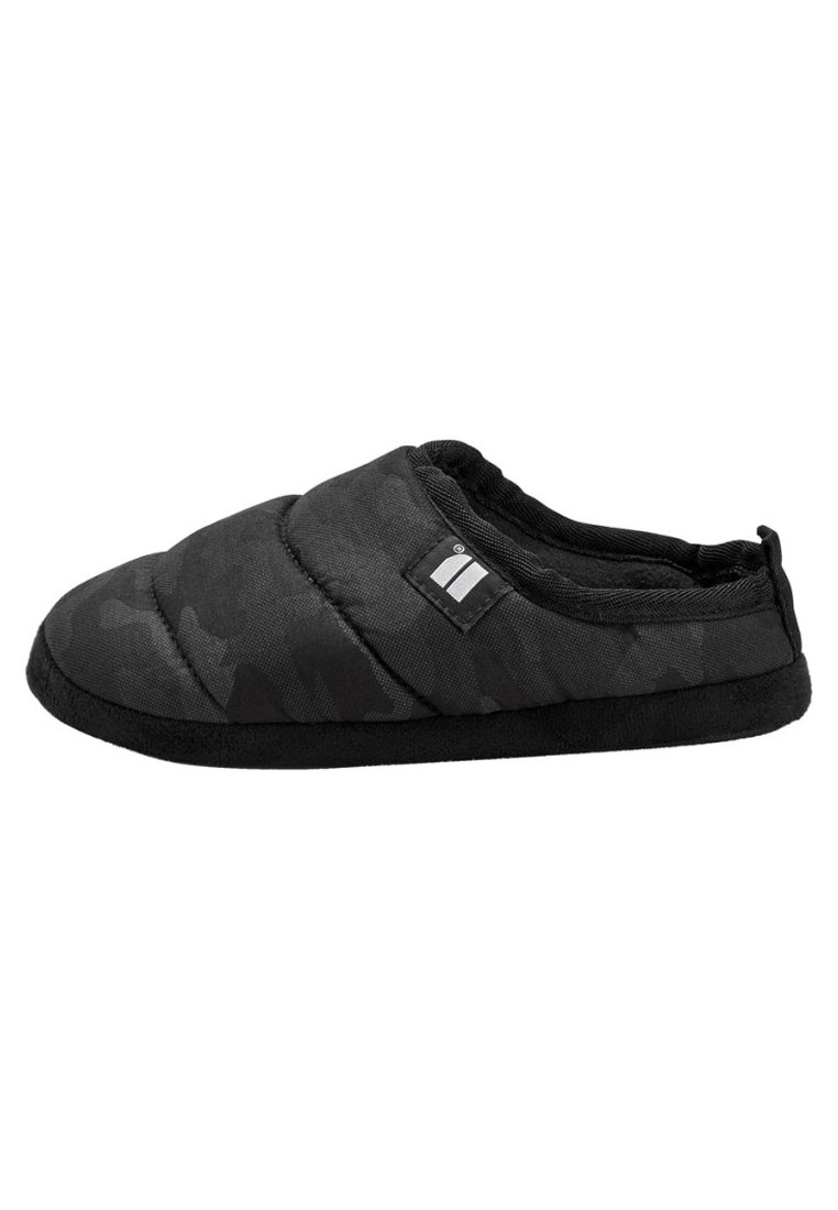 Next - BLACK CAMO MULE SLIPPERS (OLDER) - Mules - black