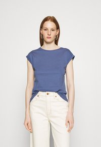 Dorothy Perkins - ROLL SLEEVE TEE 3 PACK - T-shirts - blue - 1