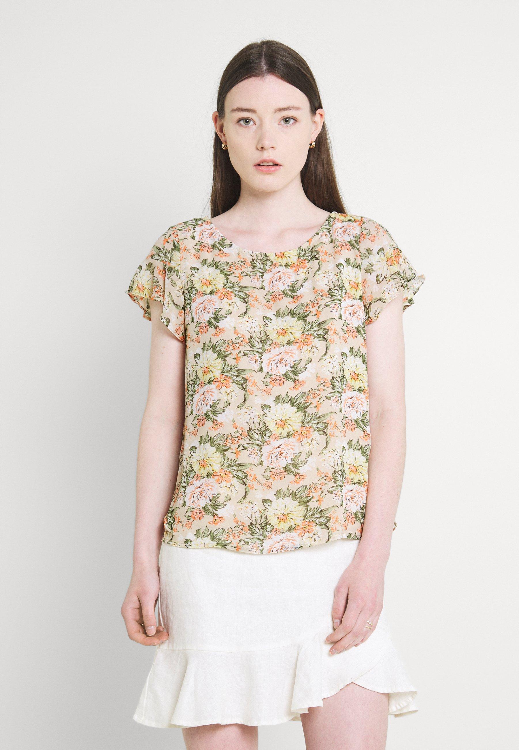 Women VIMILINA FLOWER - Print T-shirt
