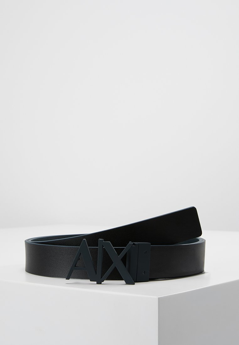 Armani Exchange - BELT - Cintura - black/navy