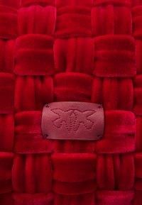 Pinko - LOVE MINI PUFF - Across body bag - red - 5