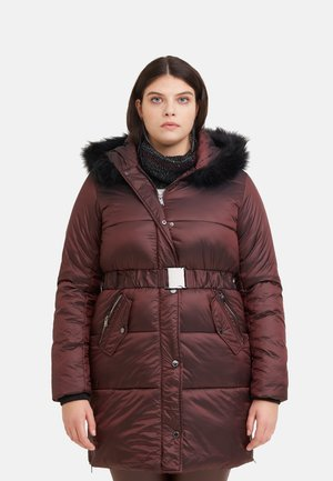 Down jacket - marrone