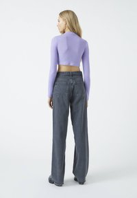 PULL&BEAR - Long sleeved top - purple - 2