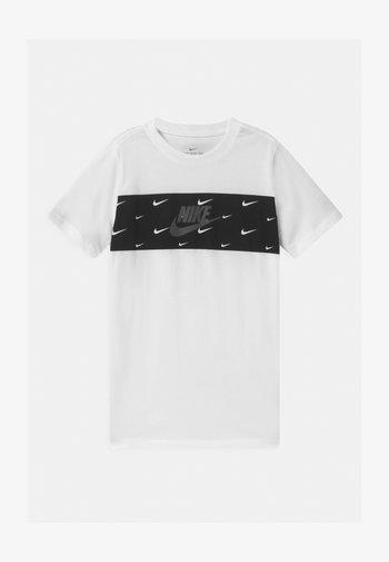 PANEL FUTURA - Print T-shirt - white