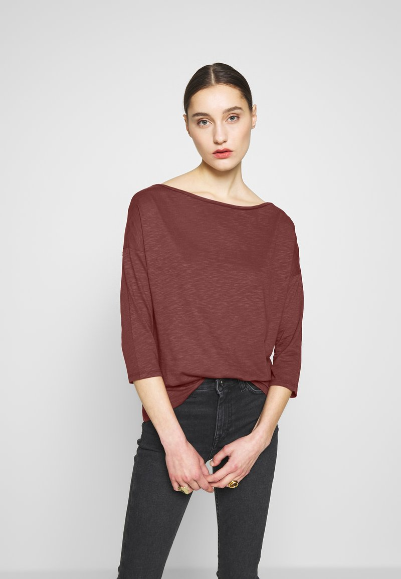 Sisley - Long sleeved top - bordeaux