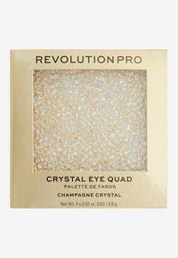 Revolution PRO - ULTIMATE CRYSTAL EYE QUAD - Palette occhi - champagne crystal - 3