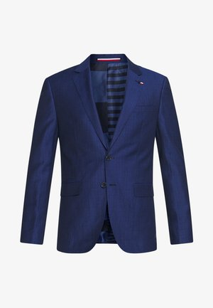 PIECE WOOL BLEND SLIM SUIT - Oblek - blue
