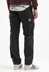 Carhartt WIP - REGULAR COLUMBIA - Cargobroek - black rinsed - 2