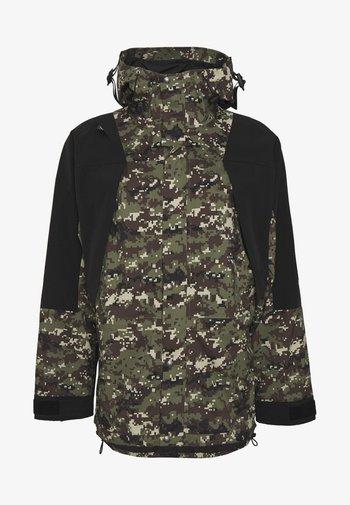 RETRO MOUNTAIN FUTURE LIGHT JACKET - Waterproof jacket - olive