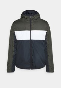 Brave Soul - MASSENAPAD - Light jacket - khaki/white/navy - 3