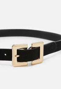 ALDO - PATULA - Belt - black/ shiny gold-coloured - 2