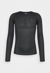 ACTIVE F DRY LIGHT ECO CREW NECK - Long sleeved top - black