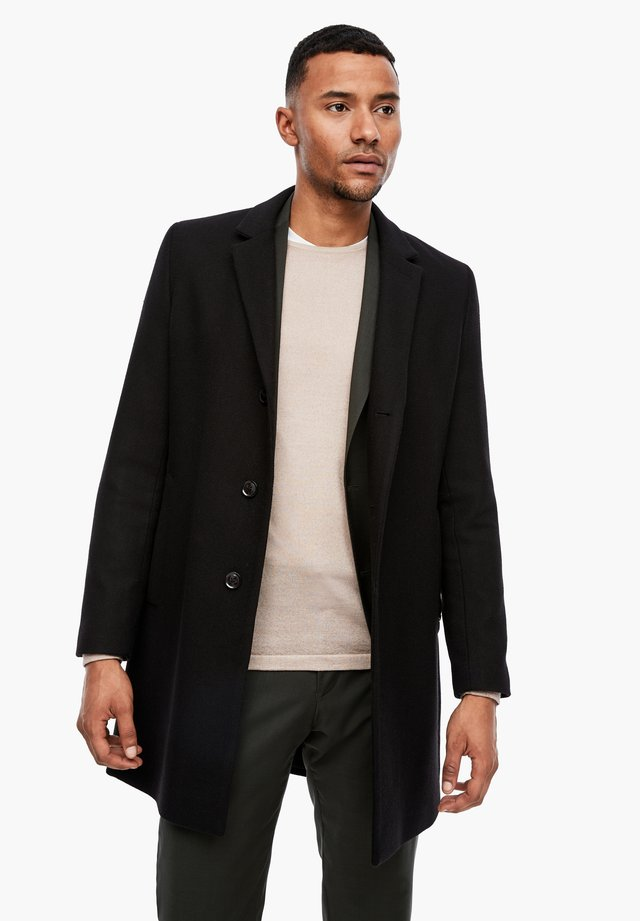 IM CLASSIC SHAPE - Halflange jas - black melange