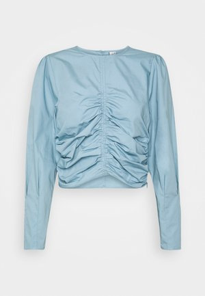 WANTED RUCHE - Bluse - blue