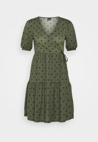 Gina Tricot - TUVA DRESS - Jersey dress - green - 5